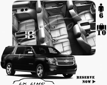 SUV Suburban for hire in Honolulu