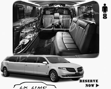 Stretch Wedding Limo for hire in Honolulu, ON, Canada
